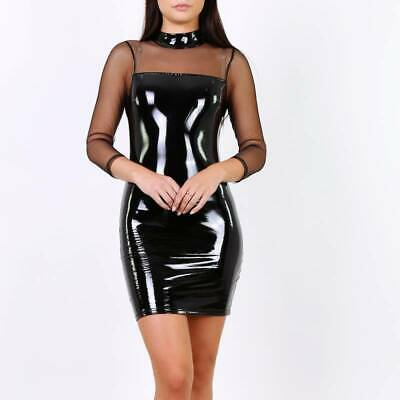 robe courte en latex 669002