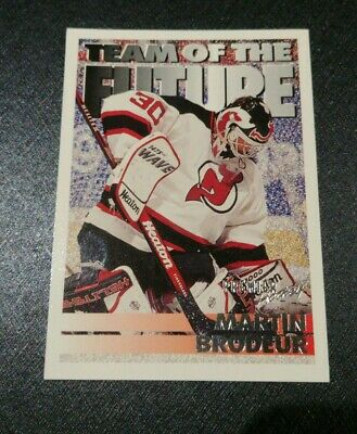 1994-95 Topps/OPC Premier Devils Hockey Card #380 Martin Brodeur TOTF FREE SHIP