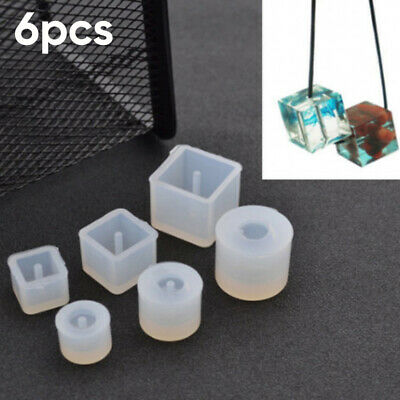 Resin Mold Epoxy Pendant Craft Silicone Mold Making Mould DIY Necklace