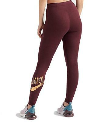 H&M SPORT LEGGINGS Tights weinrot Laufhose XS EUR 9,00