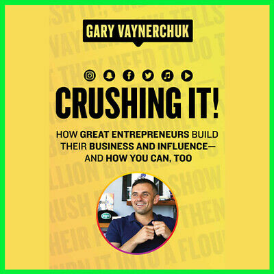 Crushing It! by Gary Vaynerchuk (E-book) {PDF}⚡Fast Delivery(10s)⚡
