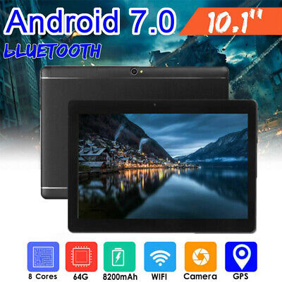 """10.1"""" TABLET PC Android 7.0 Telecamera WIFI HD bluetooth 4G 64GB 1280 * 800"""