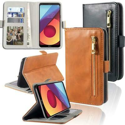 Flip Cover Stand Wallet Card Leather Case For Various LG K Series SmartPhones