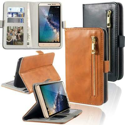 Flip Cover Stand Wallet Card Leather Case For Various Hisense Mobile Phones