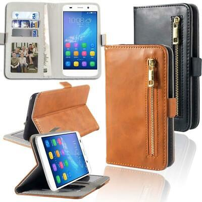 Flip Cover Stand Wallet Card Leather Case For Various General Mobile Phones