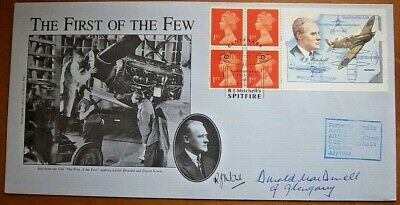 1995 The First Of The Few Fdc Signed By Air Commodore Donald Macdonell Dfc