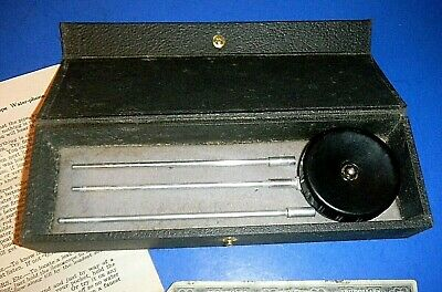 "Antique ""Sonoscope Water-phone"" w/Case - Leak Detection Tool"