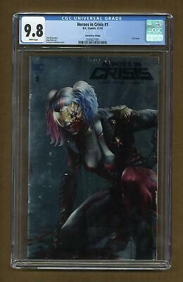 Heroes in Crisis (DC) 1CON 2018 CGC 9.8 2005621001