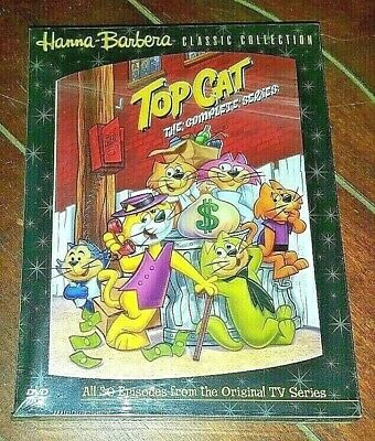 Top Cat - The Complete Series (DVD, 2004, 4-Disc Set)