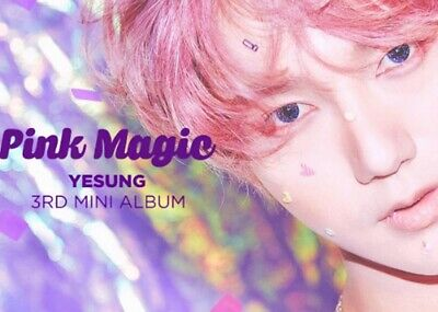 SUPER JUNIOR YESUNG: Pink Magic* 3rd Mini CD+Full Package Poster (SM) K-POP