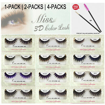 130375bc9c0 MISS LASHES 3D Volume Tapered Natural Silk Eyelash Extension 4 PACKS ...
