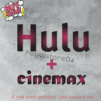 Hulu Premium Account cinemax ✅ | NOT SHARED | FULL WARRANTY |🚀 Fast Delivery🚀