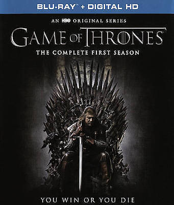 Game of Thrones: The Complete First Season 1 (Blu-ray + Digital 2016 5-Disc Set)
