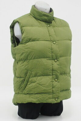 9c88b87bf91 Cabela's Premier Northern Goose Down Vest Size Small Regular Button-Up  (Green)
