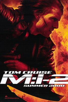 Mission Impossible II - original DS movie poster D/S 27x40 Tom Cruise