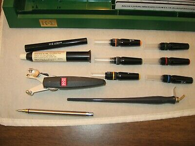 51wk Vintage K & E Leroy Lettering Set Drafting w/Case