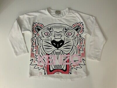 Kenzo Exclusive Edition Tiger Face T Shirt  Short Sleeve Age 8 Years Size 128cm