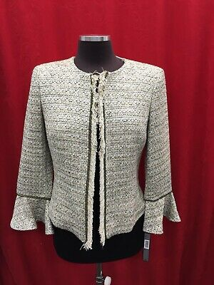 Tahari By Arthur Levine Blazer/Tweed/ Size 6/New With Tag/Retail$149/Lined