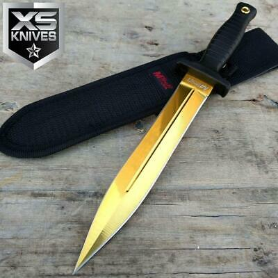 FIXED BLADE SURVIVOR DOUBLE EDGE Camping SURVIVAL Hunting BOOT Knife 11""