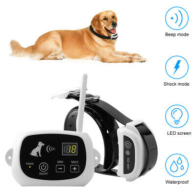 Rechargeable 1 Dog Electronic Wireless Fence Pet Containment System Waterproof