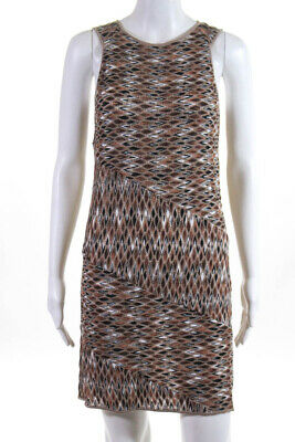MISSONI ORANGE LABEL WOVEN ZIGZAG VISCOSE MULTICOLOR WRAP SHAWL SCARF BNWT $280