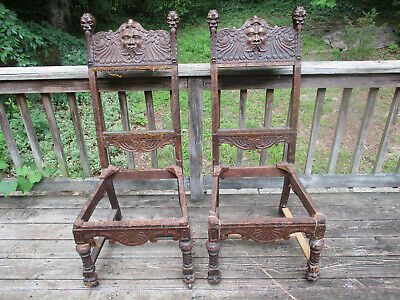 Antique 1800's North Wind Chairs