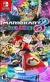 Mario Kart 8 Deluxe (Nintendo Switch, 2017) *** NEW FACTORY SEALED ***