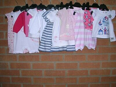 NEXT DISNEY etc Girls Bundle Rompers Tops T-Shirts Shorts Cardigan Newborn