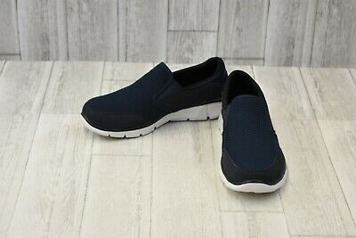 fbad1b9d9ca2b Skechers Equalizer Persistent Athletic Slip On Shoes - Men's Size 9 - Navy