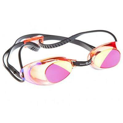 Mad Wave Liquid Racing Mirrored Goggles Red