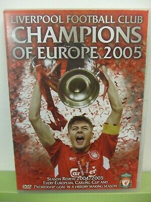 Liverpool Fc: 2004-2005 Season Review: Excellent Superb Condition Dvd: Look !!!