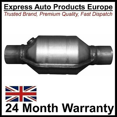 Cat Catalytic Converter 300mm x 54mm for Petrol 1.6-2.5L Universal