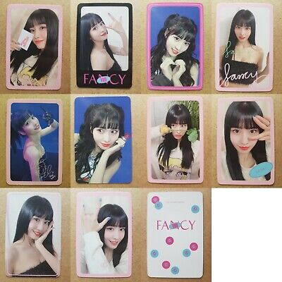 TWICE MOMO Authentic Official PHOTOCARD FANCY 7th Album Select Card