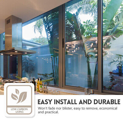 One Way Window Film Privacy Anti-UV Heat Control Reflective Glass Tint Film #