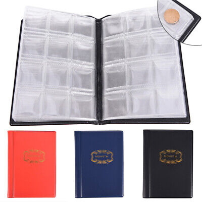 Best Gift 10 Pages 120 Coin Album Holders Coins Collector Collection Book