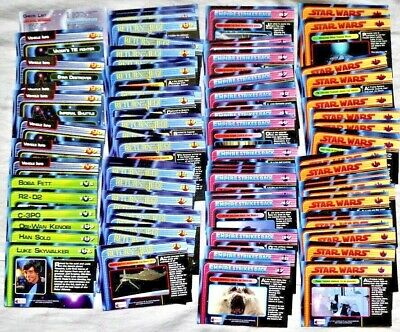 Lot of 90+ Merlin Star Wars Trilogy Collection Movie Trading Cards 1997