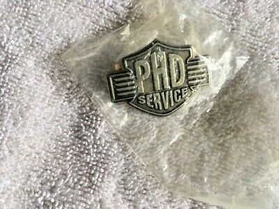 Harley Davidson PHD Service Pin - Pewter - New in Package!
