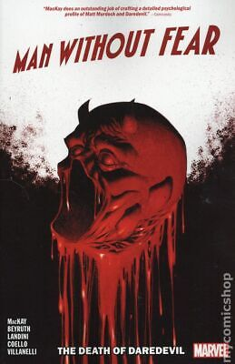 Man Without Fear The Death of Daredevil TPB (Marvel) #1-1ST 2019 NM Stock Image