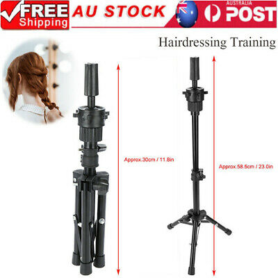 Wig Head Stand Mannequin Tripod Hairdressing Training Holder For Hair beauty