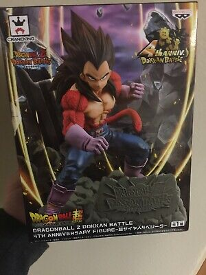 Dragon Ball Z GT DOKKAN BATTLE 4th Anniversary Figure Super Saiyan 4 Vegeta NEW