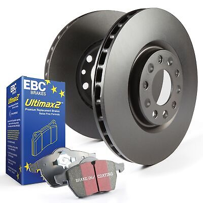 EBC Rear OE/OEM Replacement Brake Discs and Ultimax Pads Kit - PDKR596