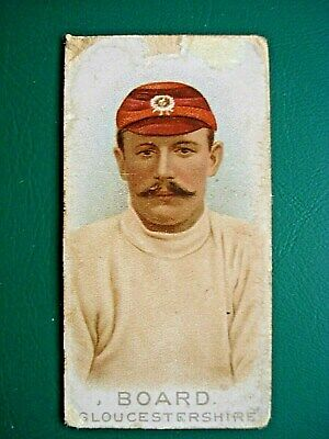 1896 Wills *Cricketers* Board (Gloucestershire)  **Rare**