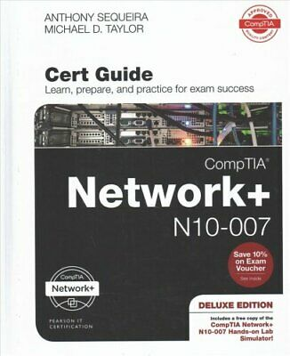 CompTIA Network + N10-007 Cert Guide, Deluxe Edition, 1/e 9780789759825