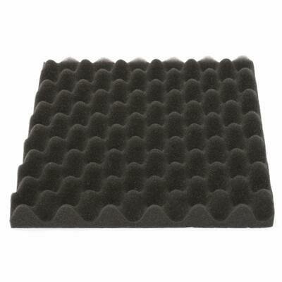 2X(3 pcs 300x300x40mm Mousse D'insonorisation Studio Mousse Acoustique D'ab 9V7)