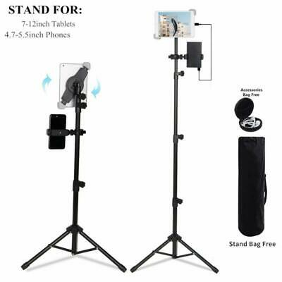 """Tablet Tripod Mount Stand Bracket Portable Universal Floor for 7 to 12"""" Tablets"""
