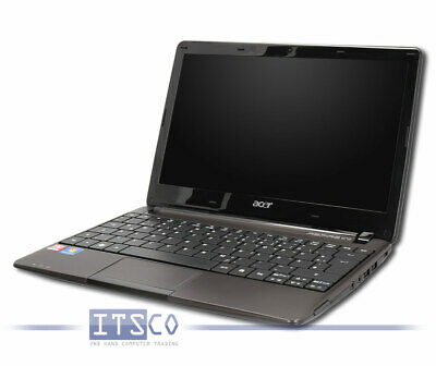 "NOTEBOOK ACER ASPIRE ONE 722 AMD C-60 2x 1GHz 4GB 500GB WLAN WEBCAM 11.6"" HD"