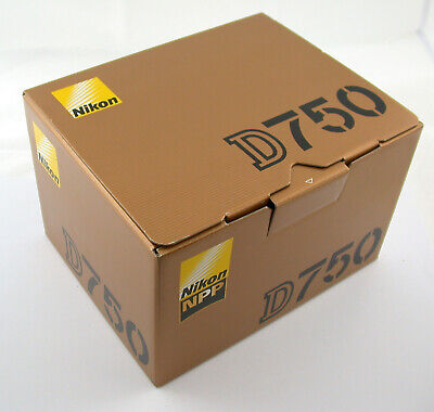 NIKON D750 body Gehäuse digital SLR FX full formate Vollformat top OVP boxed