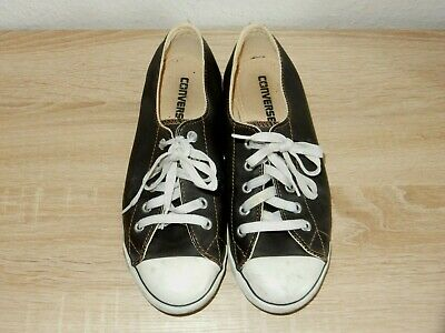 CONVERSE CHUCKS ALL STAR Damen Sneakerschuhe gr.38 uk 5 Schwarz echtleder