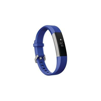 Fitbit ace activity tracker for kids, 8+, electric blue/stainless steel