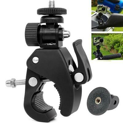 VVHOOY Motorcycle Bicycle Bike Handlebar Mount Clamp with Tripod Adapter for...